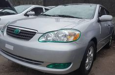 Foreign Used 2006 Silver Toyota Corolla for sale in Lagos.