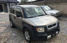 Nigeria Used Honda Element 2003 Model Silver