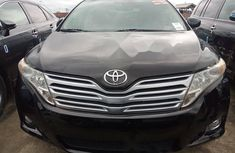 Foreign Used Toyota Venza 2011 Model Black