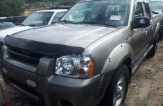 Foreign Used Nissan Frontier 2004 Model Silver