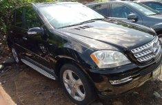 Tokunbo Mercedes-Benz ML350 2008 Model Black