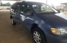 Foreign Used Toyota Sienna 2000 Model Blue