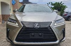 Foreign Used Lexus RX 2019 Model Silver