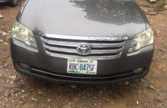 Nigeria Used Toyota Avalon 2007 Model Gray