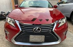Foreign Used Lexus ES 2014 Model Red
