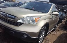 Foreign Used 2008 Gold Honda CR-V for sale in Lagos.