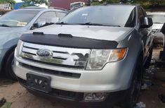 Foreign Used 2010 Silver Ford Edge for sale in Lagos.