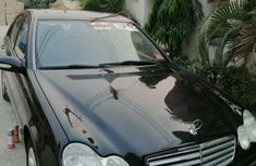 Foreign Used Mercedes-Benz C240 2005 Model Black