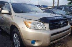 Foreign Used Toyota RAV4 2008 Model Gold