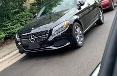 Foreign Used Mercedes-Benz C300 2015 Model Black