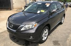 Foreign Used Lexus RX 2010 Model Gray