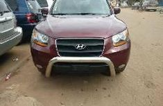 Foreign Used Hyundai Santa Fe 2009 Model Red
