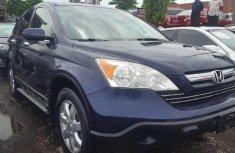 Foreign Used 2008 Dark Blue Honda CR-V for sale in Lagos.