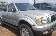 Foreign Used 2003 Silver Toyota Tacoma for sale in Lagos.