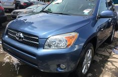Foreign Used 2008 Blue Toyota RAV4 for sale in Lagos.