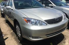 Foreign Used Toyota Camry 2004 Model Silver
