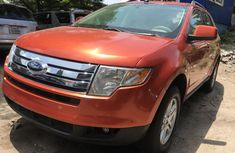 Foreign Used 2008 Maroon Ford Edge for sale in Lagos.