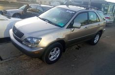 Foreign Used Lexus RX 2000 Model Gold