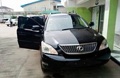 Locally Used 2008 Black Lexus RX for sale in Lagos.