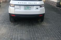 Nigeria Used Land Rover Range Rover Evoque 2014 Model White