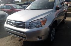 Foreign Used Toyota RAV4 2008 Model Silver