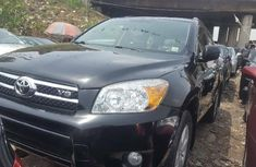 Foreign Used 2008 Black Toyota RAV4 for sale in Lagos.