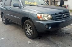 Foreign Used Toyota Highlander 2004 Model Gray