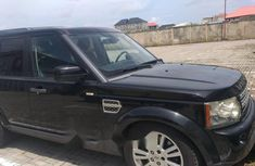 Nigeria Used Land Rover LR4 2010 Model Black