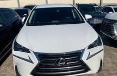 Foreign Used Lexus NX 2017 Model White