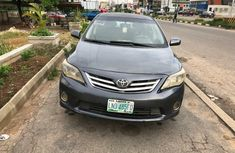 Nigeria Used Toyota Corolla 2012 Model Gray