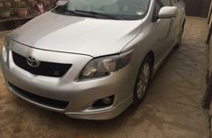 Foreign Used Toyota Corolla 2009 Model Silver