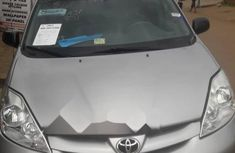 Foreign Used Toyota Sienna 2006 Model Silver