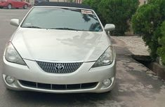 Foreign Used Toyota Solara 2004 Model Silver