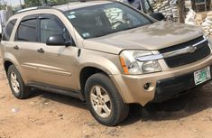 Nigeria Used Chevrolet Equinox 2006 Model Gold