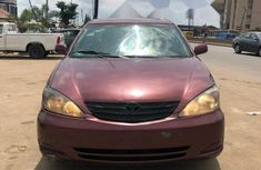 Nigeria Used Toyota Camry 2003 Model Red