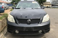 Foreign Used Toyota Matrix 2004 Model Black