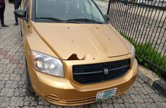 Foreign Used Dodge Caliber 2007 Model Gold