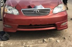 Foreign Used Toyota Corolla 2007 Model Red