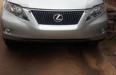 Foreign Used Lexus RX 2011 Model Silver