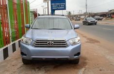 Foreign Used Toyota Highlander 2010 Model Blue