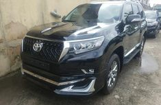 Brand New 2019 Black Toyota Land Cruiser Prado for sale in Lagos.