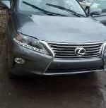 Foreign Used 2013 Grey Lexus RX for sale in Lagos.