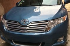 Foreign Used 2010 Blue Toyota Venza for sale in Lagos.