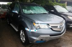 Foreign Used 2008 Blue Acura MDX for sale in Lagos.