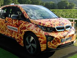 BMW i3 Spaghetti fetched €100,000 at auction