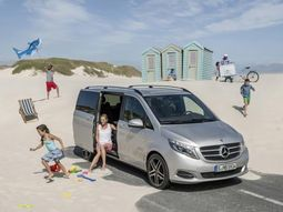 Mercedes V-Class Rise ready to be showcased at Frankfurt