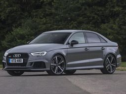 First ever Audi RS3 sedan hit the UK market