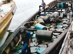 Nigerian Navy arrests 1.1m litres of stolen diesel in Rivers