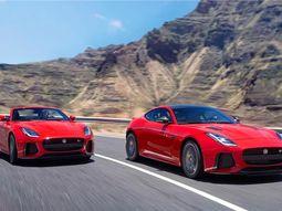 2018 4-Cylinder Ingenium Jaguar F-Type walks in Sub-Sahara Africa