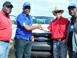 Ford's Driving Skills for Life training to Riders for Health Nigeria organized